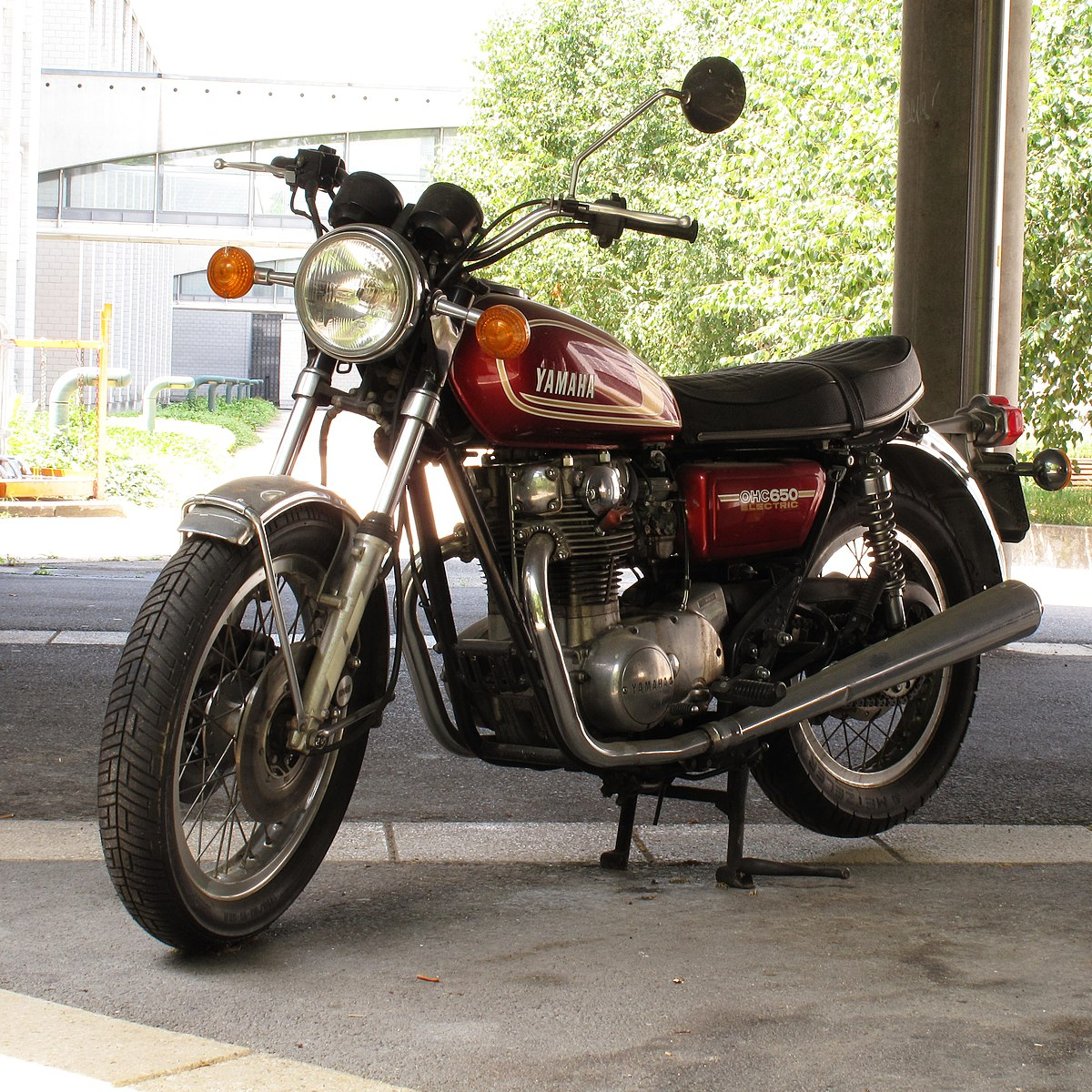 yamaha xs 650 wikipedia On c s motors