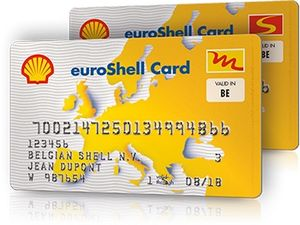 Fuel card - A fuel card valid in Belgium