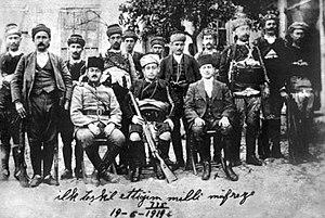 Malgaç Raid - Image: Yoruk Ali Efe and his detachment