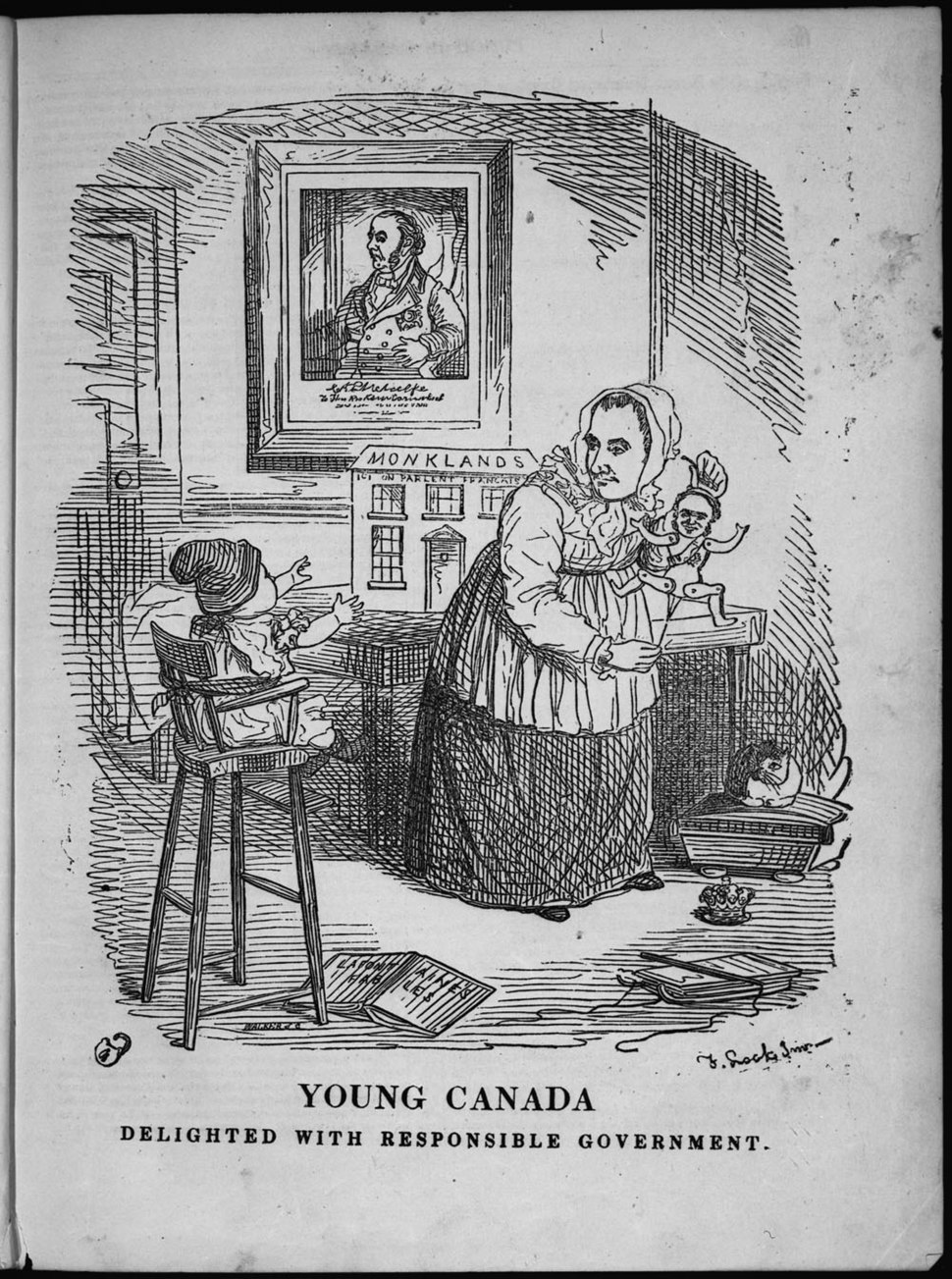 Young Canada Delighted with Responsible Government c092201-v8