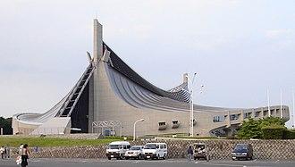Tokyo bid for the 2016 Summer Olympics - Yoyogi National Gymnasium, built for the 1964 Summer Olympics