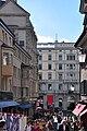 Zürich - Limmatquai - Oden - Haus Bellevue - Torgasse - Oberdorfstrasse 2010-09-04 15-17-24 ShiftN.jpg
