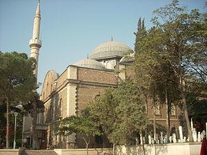 Zagan Pasha Mosque - Zagan Pasha Mosque seen from the south.
