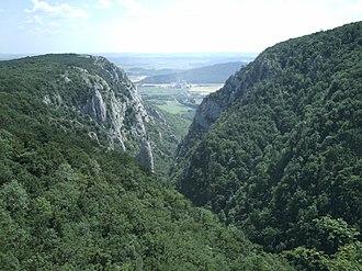Slovak Ore Mountains - Zadiel canyon in the Slovak Karst