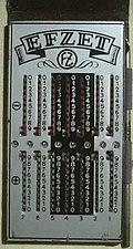 Zahlenschieber