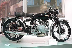 Vincent Motorcycles - Vincent Comet from 1950 at the Deutsches Zweirad- und NSU-Museum