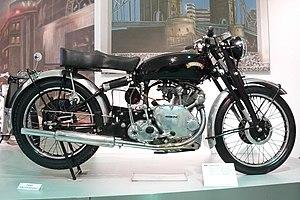Vincent Motorcycles - Vincent Comet from 1950 at the Deutsches Zweirad- und NSU-Museum