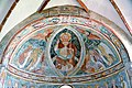 Zweinitz Pfarrkirche hl Egydius Chor got Fresko Maiestas Domini 22102014 545.jpg