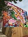 """Love in Search of a Word"" (2011; Joel Bergner, artist), 436 E. Lafayette Avenue, Baltimore, MD 21202 (47940112851).jpg"