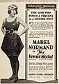 """""""MABEL NORMAND in the VENUS MODEL"""" """"GOLDWYN PICTURES CORPORATION"""" ad detail, from- Exhibitorsherald07exhi (page 17 crop).jpg"""