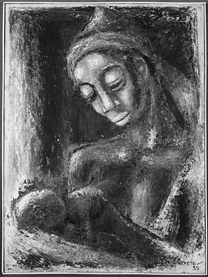 "Gerard Sekoto - ""Mother and Child"", 1959"