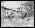 """""""Rear view of the Glandon home at Bridges Chapel near Loyston, Tennessee. The children have shown considerable... - NARA - 532690.tif"""