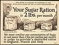 """This Store is pledged to conform to the Sugar Regulations of the Food Administration. Your Sugar Ration is 2lbs. per mo - NARA - 512525.jpg"