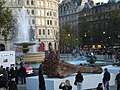 'Ghost Forest', Trafalgar Square looking towards Northumberland Avenue - geograph.org.uk - 1587487.jpg
