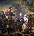 'The Levite and his Concubine Invited to Lodge at Gibeah' by Gerbrand van den Eeckhout.JPG