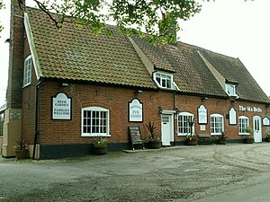 Preston St Mary - Image: 'The Six Bells' inn, Preston St. Mary, Suffolk geograph.org.uk 183264
