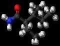 (2R,3S)-Valnoctamide molecule ball.png