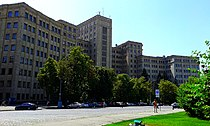 (39) V N KARAZIN KHARKIV NATIONAL UNIVERSITY MAIN BUILDING IN CITY OF KHARKIV STATE OF UKRAINE PHOTOGRAPH BY VIKTOR O LEDENYOV 20160621.jpg