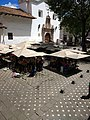 (amazing church, a cool photograph) flower market in downtown Cuenca Ecuador,.jpg