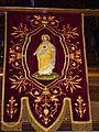 Église Notre-Dame-de-Grâces d'Ardres bannière de procession 02.JPG