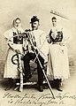 Élőkép parasztviseletben. A felvétel 1890 körül készült. Fortepan 96139.jpg
