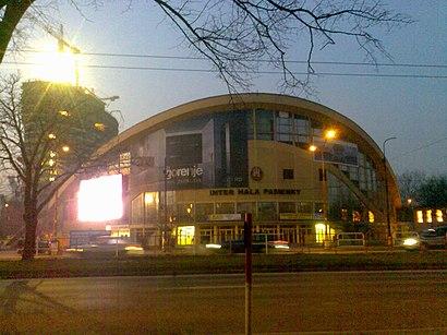 Ako do Hant Arena hromadnou dopravou - O mieste