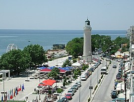 The lighthouse, symbol of Alexandroupoli