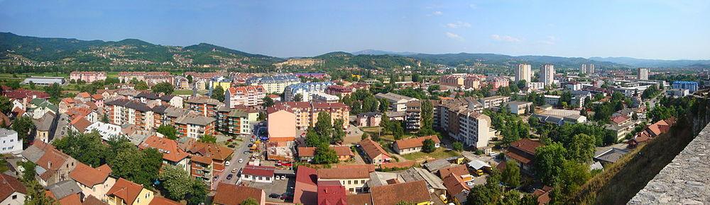 Панорама Добоја
