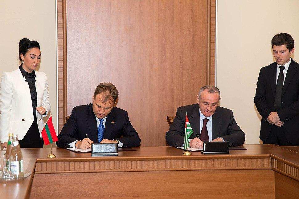Евгений Шевчук и Александр Анкваб