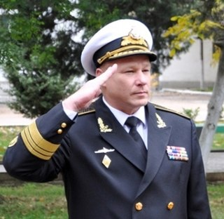 vice-admiral of the Ukrainian Navy