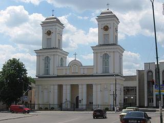 Nemyriv City in Vinnytsia Oblast, Ukraine
