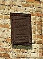 Охоронна табличка костелу в Клевані DSCF7476.JPG