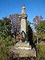 Скульптура святого Даниїла в селі Великі Гаї.JPG