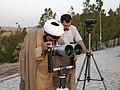 استهلال ماه رمضان در شهر قم، عکاس مصطفی معراجی، بلندی های بوستان علوی قم 01.jpg