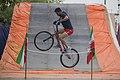 دوچرخه سواری بی ام ایکس در پارک ملت دزفول- عکاس-مصطفی معراجی Freestyle BMX is bicycle stunt, Iran-Dezfol 05.jpg