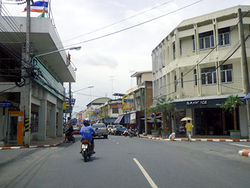 Typical atmosphere of Phanat Nikhom