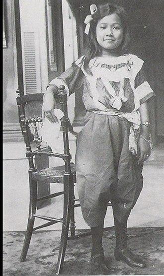 Rambai Barni - Young Rambai Barni