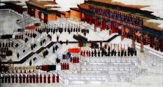 Empress Dowager Longyu - Wedding of the Guangxu Emperor and Empress Xiaodingjing