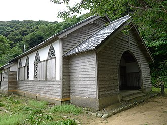 Hidden Christian Sites in the Nagasaki Region - Image: 旧五輪教会