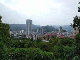 Wenling - Image: 温岭城市一景 1