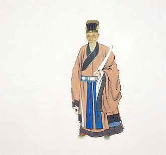 Dong Qichang - Portrait of Dong Qichang
