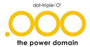 .OOO - Image: .OOO (Dot Tripple O) Domain Logo