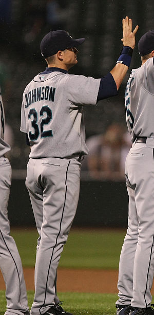 2004 Seattle Mariners season - Rob Johnson was selected by the Mariners in the fourth round.