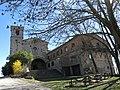032 Santuari de la Mare de Déu dels Munts (Sant Agustí de Lluçanès), església i hostatgeria.jpg