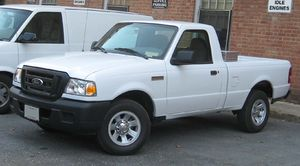 2006-2008 Ford Ranger photographed in USA.