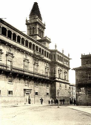 065 Santiago (da Compostela) Die Bibliothek und der Capitelsaal neben der Kathedrale