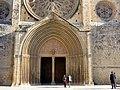 081 Monestir de Sant Cugat del Vallès, portalada.JPG