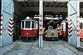 093R17050982 Tramwaymuseum in der Remise Ottakring, Typ G 6858, Typ KM1 6112.jpg
