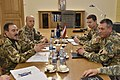 1- COM JFCBS meets Latvian Chief of Defense - Lt Gen Leonīds Kalniņš (24733076358).jpg