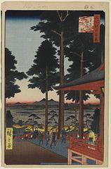 The Ōji Inari Shrine